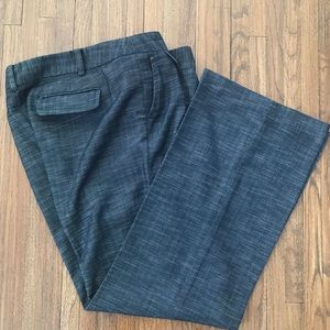 Ann Taylor Signature Fit Trousers Gray